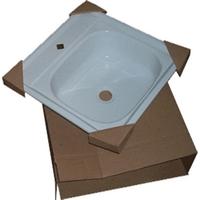 Мойка эмаль 50х50 Гомель (с кронш.) 16,5 см