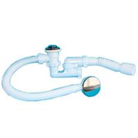 Обвязка АНИ для ванны клик-клак, с выпуском и переливом 375x40x50 EC255