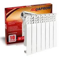Радиатор биметаллический AQUAPROM 80*500  10 сек.