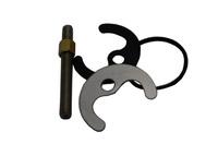 крепеж смесителя для кухни (1 шпилька нерж. + гайка М8 латунь ) 20762